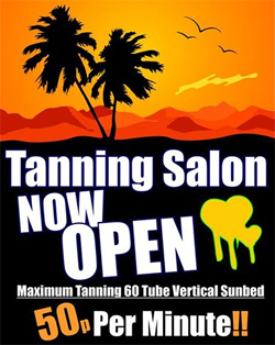 tanning shops Nottingham city centre
